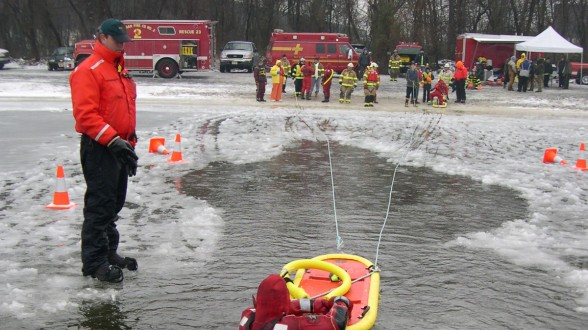 Host an Ice Rescue Training this winter!