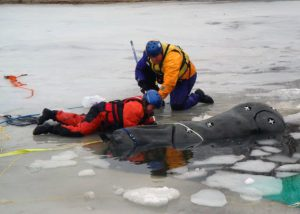 Clinton, Connecticut – Surface Ice Rescue Levels 1 and 2 in February