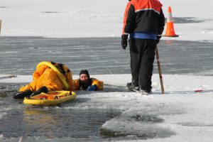 Surface Ice Rescue Level 1 in Saranac Lake, NY
