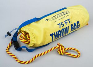 75 foot Lifeguard Systems' Throw Bag – Guaranteed to fly the fastest with the greatest accuracy!