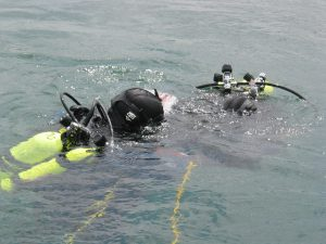 Maximum dive time for Public Safety Diving searches.