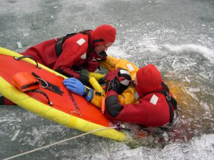Surface Ice Rescue Level 1 training available in Saranac Lake, NY 2020