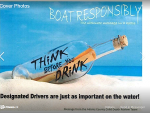 Intoxicated boat operators kill too many people every year.