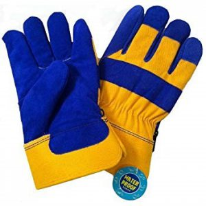 Closeout sale on Waterproof Lined Insulated Winter Work Gloves only 4 left